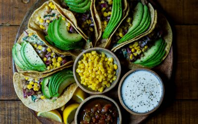 Herbed Corn & Black Bean Salsa