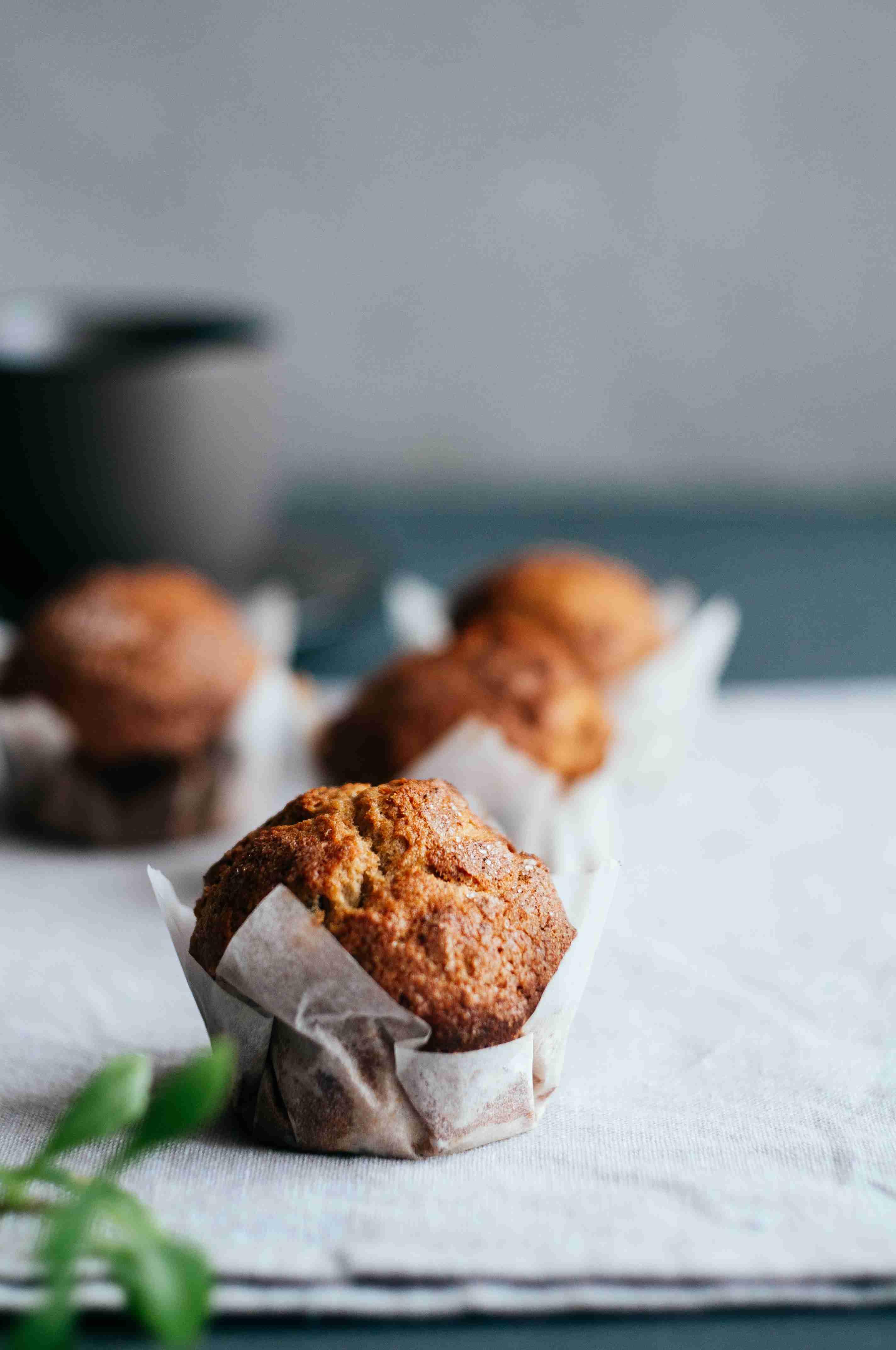 healthy baking muffins